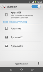 Sony D2005 Xperia E1 - Bluetooth - Koppelen met ander apparaat - Stap 6