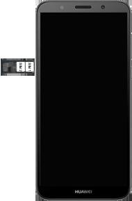 Huawei Y5 (2018) - SIM-Karte - Einlegen - 6 / 9