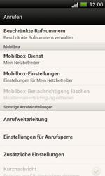 HTC One SV - Anrufe - Rufumleitungen setzen und löschen - 5 / 9