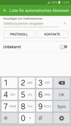 Samsung Galaxy J5 - Anrufe - Anrufe blockieren - 8 / 12