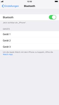Apple iPhone 7 Plus - iOS 12 - Bluetooth - Geräte koppeln - Schritt 7