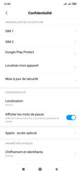 Xiaomi Mi Mix 3 5G - Prise en main - Comment activer un code SIM - Étape 5