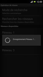 Sony Xperia J - Réseau - Sélection manuelle du réseau - Étape 9