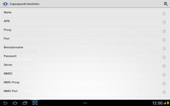 Samsung Galaxy Note 10-1 - MMS - Manuelle Konfiguration - 8 / 16