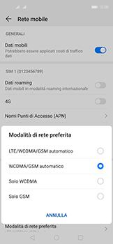 Huawei Nova 5T - Rete - Come attivare la connessione di rete 4G - Fase 6