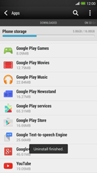 HTC One Max - Applications - How to uninstall an app - Step 8