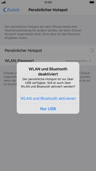 Apple iPhone 6s Plus - iOS 13 - WiFi - So aktivieren Sie einen WLAN-Hotspot - Schritt 8
