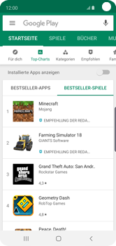 Samsung Galaxy S10e - Apps - Herunterladen - Schritt 12