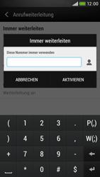 HTC Desire 601 - Anrufe - Rufumleitungen setzen und löschen - 7 / 9