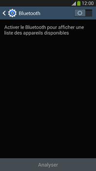 Samsung Galaxy Note 3 - Internet et connexion - Connexion avec un équipement multimédia via Bluetooth - Étape 6