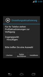 Motorola RAZR i - MMS - Automatische Konfiguration - 2 / 2