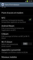 Samsung Galaxy S III LTE - Internet et roaming de données - Comment vérifier que la connexion des données est activée - Étape 5