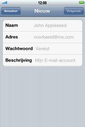 Apple iPhone 4 S - E-mail - e-mail instellen: POP3 - Stap 6