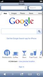 Apple iPhone 5 - Internet - Internet browsing - Step 6