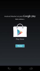 Sony Xperia T - Apps - Einrichten des App Stores - Schritt 17