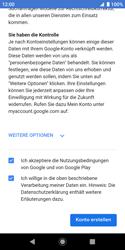 Sony Xperia XZ2 Compact - Android Pie - Apps - Konto anlegen und einrichten - Schritt 17