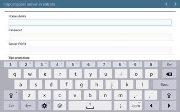 Samsung T535 Galaxy Tab 4 10.1 - E-mail - configurazione manuale - Fase 8