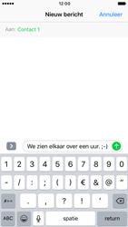 Apple iPhone 6 iOS 10 - MMS - Afbeeldingen verzenden - Stap 7