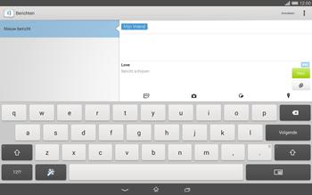 Sony Xperia Tablet Z2 (SGP521) - MMS - afbeeldingen verzenden - Stap 12