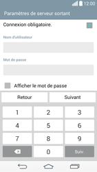LG G3 - E-mail - configuration manuelle - Étape 13