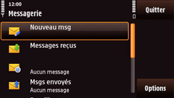 Nokia N97 Mini - SMS - Configuration manuelle - Étape 4