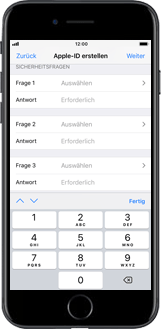 Apple iPhone 7 Plus - Apps - Konto anlegen und einrichten - 12 / 26