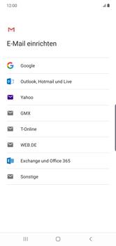 Samsung Galaxy Note 10 Plus 5G - E-Mail - 032a. Email wizard - Gmail - Schritt 8