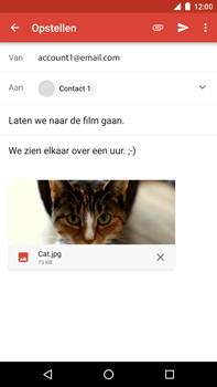 Huawei Google Nexus 6P - E-mail - Bericht met attachment versturen - Stap 14