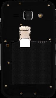 Samsung Galaxy J1 - SIM-Karte - Einlegen - 3 / 7