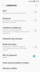 Samsung Galaxy S7 - Android N - Internet et roaming de données - Comment vérifier que la connexion des données est activée - Étape 5