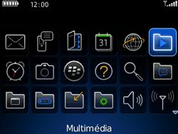 BlackBerry 8520 - Photos, vidéos, musique - Envoyer une photo via Bluetooth - Étape 3