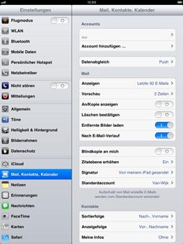 Apple iPad mini - E-Mail - Konto einrichten - 1 / 1