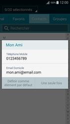 Samsung Galaxy A3 (A300FU) - Contact, Appels, SMS/MMS - Envoyer un SMS - Étape 7