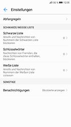 Huawei Honor 9 - Anrufe - Anrufe blockieren - Schritt 6