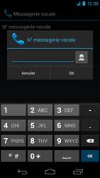 Samsung I9250 Galaxy Nexus - Messagerie vocale - Configuration manuelle - Étape 7