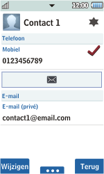 Samsung S5260 Star II - contacten, foto