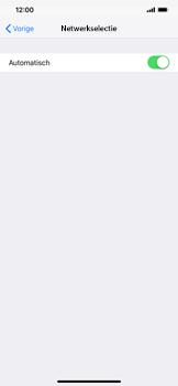 Apple iPhone XS Max - Netwerk selecteren - Handmatig een netwerk selecteren - Stap 7