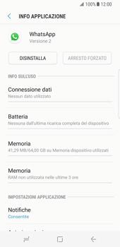 Samsung Galaxy S8 - Applicazioni - Come disinstallare un