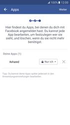 Samsung Galaxy S7 - Datenschutz und Sicherheit - Datenschutzeinstellungen von Facebook ändern - 18 / 35