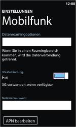 Nokia Lumia 800 - Internet - Manuelle Konfiguration - Schritt 6