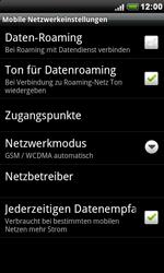 HTC Desire - Ausland - Im Ausland surfen – Datenroaming - 8 / 11