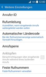 Samsung Galaxy Xcover 3 - Anrufe - Rufumleitungen setzen und löschen - 1 / 1
