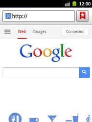 Samsung Galaxy Pocket - Internet et roaming de données - Navigation sur Internet - Étape 5
