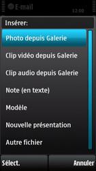 Nokia X6-00 - E-mail - envoyer un e-mail - Étape 10