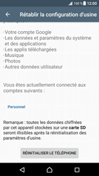 Sony Xperia XZ Premium - Aller plus loin - Restaurer les paramètres d'usines - Étape 6