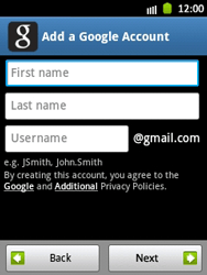 Samsung Galaxy Pocket - Applications - Setting up the application store - Step 8
