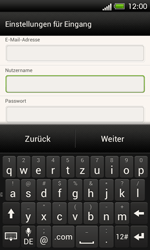 HTC One SV - E-Mail - Konto einrichten - 1 / 1