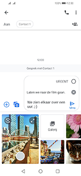 Huawei Y6 (2019) - MMS - afbeeldingen verzenden - Stap 12
