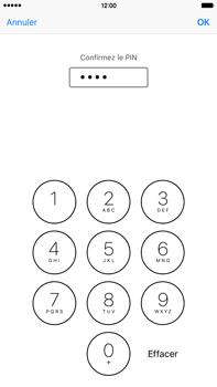 Apple iPhone 6s Plus - Sécuriser votre mobile - Personnaliser le code PIN de votre carte SIM - Étape 11