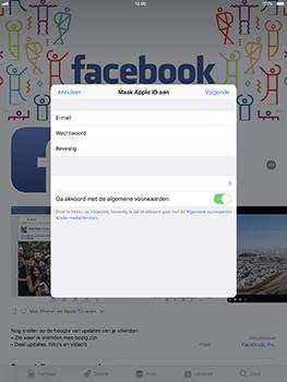 Apple iPad Pro 10.5 inch - iOS 11 - Applicaties - Account aanmaken - Stap 9